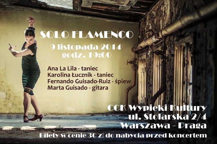 Koncert Solo Flamenco Karolina Lucznik